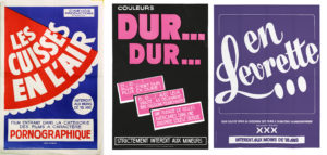 3 AFFICHES